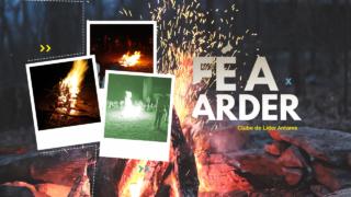 Hino Fé a Arder – acampamento CL Antares